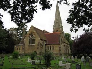 Galleywood Church Essex